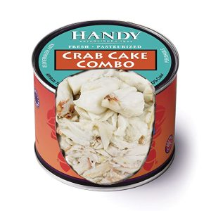 Handy Crab Meat inside the can