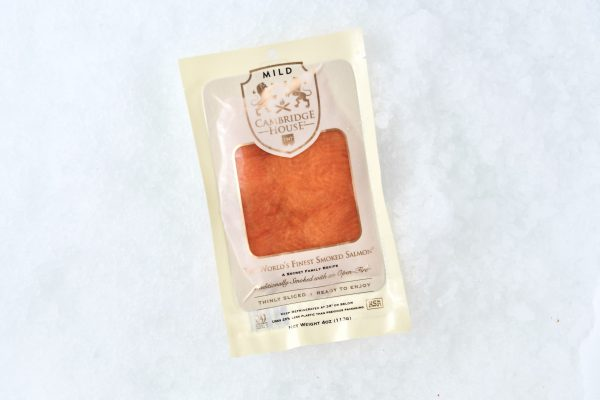 Smoked salmon mild in package