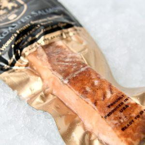 Smoked salmon oak roasted