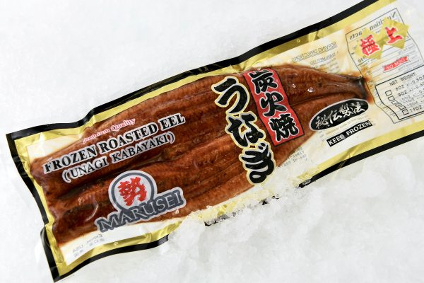 Eel unagi in package