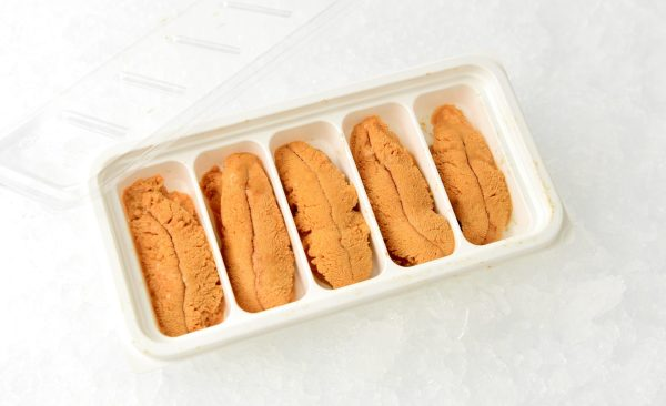 California uni in 100 gram tray