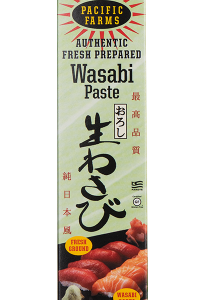Wasabi paste packaged