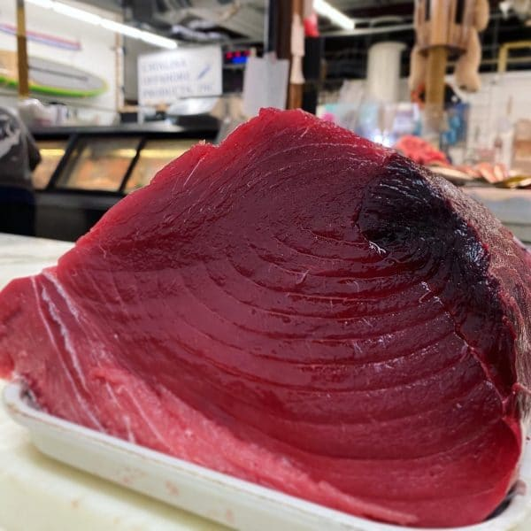 Wild Pacific bluefin loin