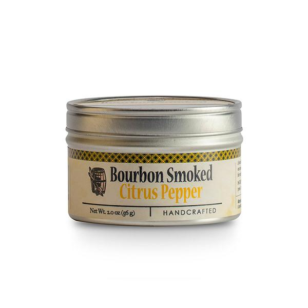 Container of bourbon smoked lemon pepper
