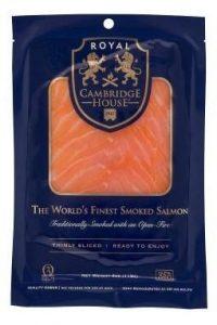 Smoked Salmon, Cambridge House Royal